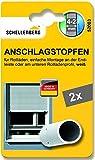 Schellenberg 52003 - Tappo di arresto per tapparelle, colore: bianco Anschlagstopfen für Rollladen, weiß