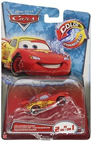 Disney/Pixar Cars, Farbe Changer, Lightning McQueen [rot bis gelb] Fahrzeug, Modell: ckd16, Spielzeug & Gaems