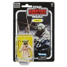 Star Wars The Black Series Yoda 15 cm Scale Star Wars: The Empire Strikes Back 40th Anniversary Collectible Figure, Children Aged 4 and Up