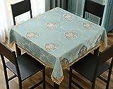 LIAN Tischtuch Tischdecke Stoff Tee Tischdecke Tuch Platz Taschentuch Spitze Mahjong Tisch Kleine Couchtisch Wohnzimmer Tischdecke Haushalt Nachttisch Tuch Home Stoff Dekoration (Größe : 65 * 65cm)