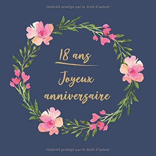 18 ans Joyeux Anniversaire: Félicitations - Nous vous souhaitons un bon anniversaire | Livre d'or pour l'écriture | idées cadeaux pour les meilleurs amis par  CadeauxLivres DeSophie