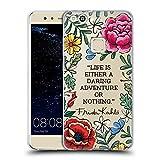 Head Case Designs Officiel Frida Kahlo Aventure Audacieuse Art Et Citations Étui Coque en Gel Molle pour Huawei P10 Lite