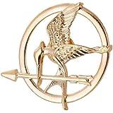 linjunddd Los Juegos del Hambre Mockingjay De La Película Prop Rep Pin (Mockingjay De Oro) Elegante Regalo para Hombre Mujere