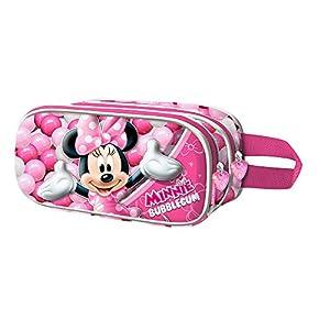 Karactermania Minnie Mouse Bubblegum Estuches, 22 cm, Rosa