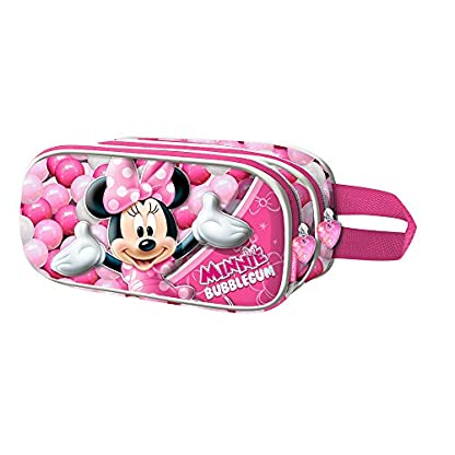 Karactermania Minnie Mouse Bubblegum Estuches, 22 cm, Rosa