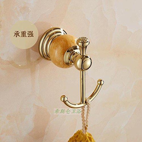 MangeooEuropäische kupferbeschichtetes Keramik rose gold gold Rand Doppelhaken Haken, auf gefälschte etwas Antiken -