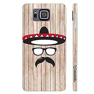 Samsung Alpha G850F Mexico Man designer mobile hard shell case by Enthopia