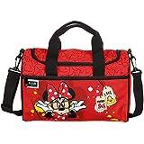 Scooli bolso infantil de Disney Minnie, aprox. 35x 16x 24 cm, bolsa de deporte, 8L, color rojo
