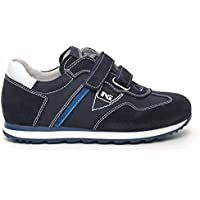 nero giardini sneaker doppio velcro indios blu P533460M 200