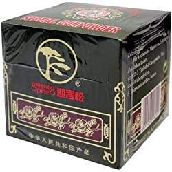 Greeting Pine Grüner Tee, Gunpowder, geroll, 2er Pack (2 x 500 g Packung)
