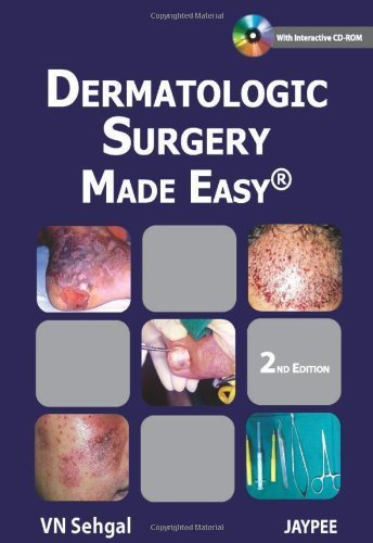 Dermatologic Surgery Made Easy 2 Ina Min Edition by Sehgal, Virendra N., M.D. (2012) Hardcover