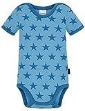 Schiesser Unisex Baby Funktionsunterwäsche Body 1/2, Blau (Hellblau 805), 068
