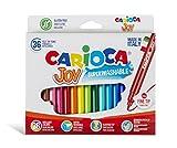 Carioca 40237/B - Caja de rotuladores con tinta lavable, 36 unidades, multicolor
