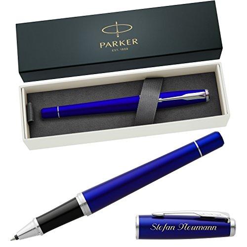 PARKER Tintenroller URBAN Night Sky Blue C.C. 1931589 mit persönlicher Laser-Gravur