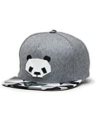LUFA Panda Pattern Hip-hop Cap Unisex Hats Adjustable Buckle Baseball Cap 3 couleurs&55-60cm