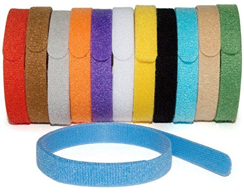 Whelping ID Collars for Newborn Puppies and Kittens - Easy to Identify and Monitor Each - Double Sided Fabric, Making… 6