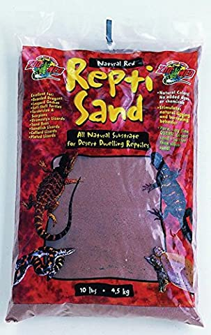 Zoo Med SW-10 Repti-Sand, 4.5 Kg, Natural Red
