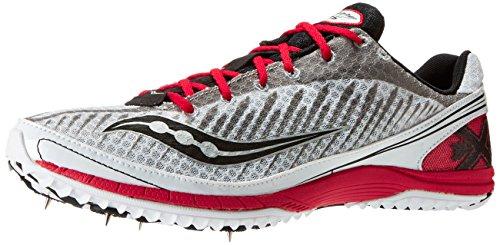 Saucony , Chaussures d'athlétisme pour homme multicolore US Blanc/noir/rouge