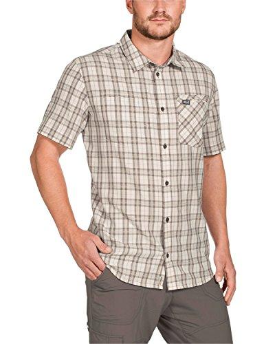 Jack Wolfskin Herren Hemd Arthurs Vent Shirt M White Sand Checks