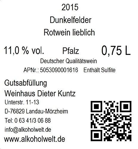 Weinhaus-Dieter-Kuntz-Dunkelfelder-2015-lieblich-3-x-075-l