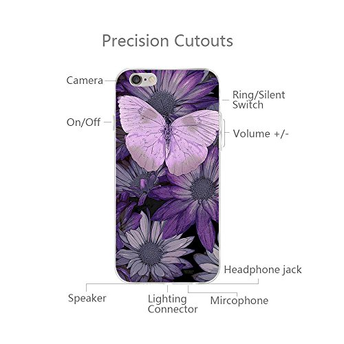 iPhone 6/6s Custodia Marmo TPU Gel Silicone Protettivo Skin Custodia Protettiva Shell Case Cover Per Apple iPhone 6 6s (4,7) (4) 4