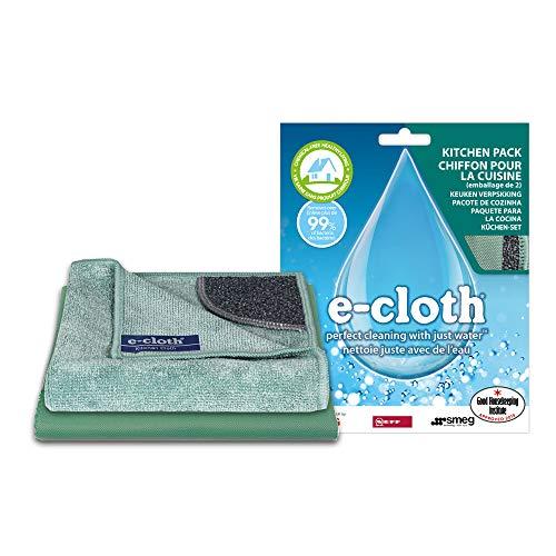 Polti EAP1 E-Cloth - Mikrofaser - Küchenreinigungstücher, 2 Stück