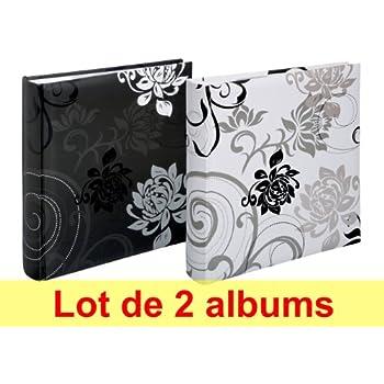 Lot de 2 albums photos Walther Grindy à pochettes pour 200 photos 11.5x15