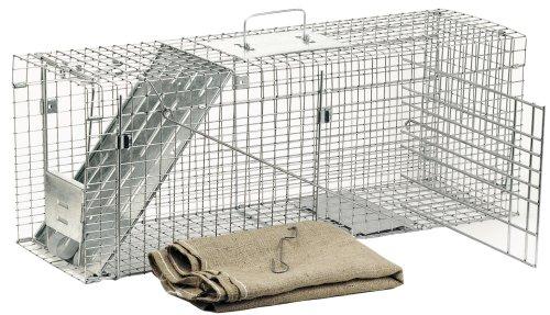 Havahart 1099 Gabbia Trappola Professionale per La Cattura di Animali Vivi a Un'Entrata per Animali di Grandi Dimensioni