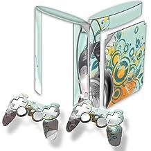 Colección 24, Custom Consola PS3FAT Slim Full Body diseño pantalla Skin Protector Funda Meine Musik 10004 PS3 Superslim Designfolie
