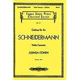 Cadenza for the Schneidermann Violin Concerto (English Edition)
