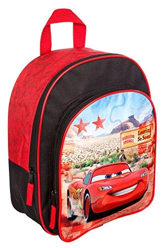Undercover CAGR7293 Kindergartentasche, Disney Pixar Cars, ca. 21 x 22 x 8 cm Rucksack mit Vortasche