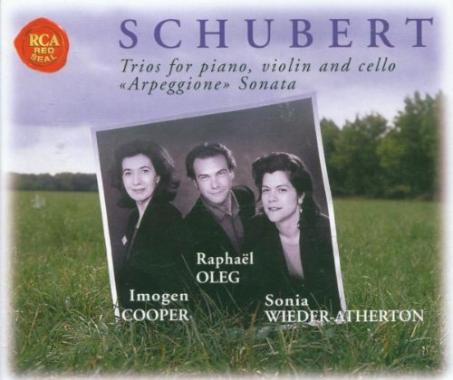 SCHUBERT - Trios for piano, violin and cello - Arpeggione Sonata