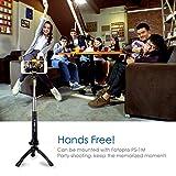 Fotopro Handy Stativ Tripod Sets mit Handy Adapter, Bluetooth Fernauslöser für Kamera, Gopro, iPone, Samsung und andere Smartphones - 6