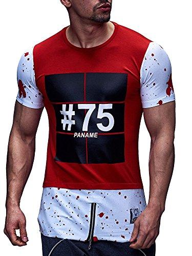 David & Gerenzo -  T-shirt - Uomo Bianco