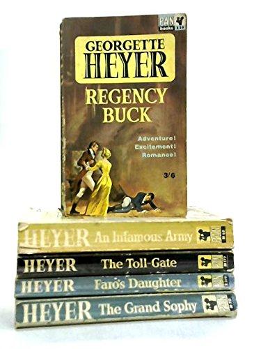 Set of 5 Georgette Heyer Romance Novels Georgette-set