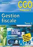 Gestion fiscale 2015-2016 - Tome 2 - 14e éd. - Manuel