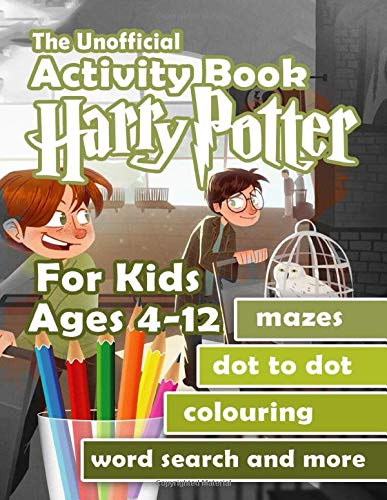 Preisvergleich Produktbild The Unofficial Harry Potter Activity Book For Kids Ages 4-12: Find the Match,  Dot-To-Dot,  Word Search,  Maze,  Colour by Number and Many More Inside!