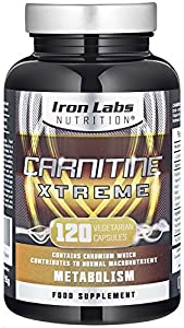 Acetyl L Carnitine - Carnitine Xtreme | 500mg x 120 Capsules | Ultimate Acetyl L Carnitine for Performance | Added Chromium for Metabolism | Acetyl-L-Carnitine Vegetarian Capsules