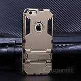 Cocomii Iron Man Armor iPhone 6S Plus/6 Plus Coque Nouveau [Robuste] Tactique Prise Support Antichoc Couverture [Militaire Défenseur] Case Étui Housse for Apple iPhone 6S Plus/6 Plus (I.Gold)