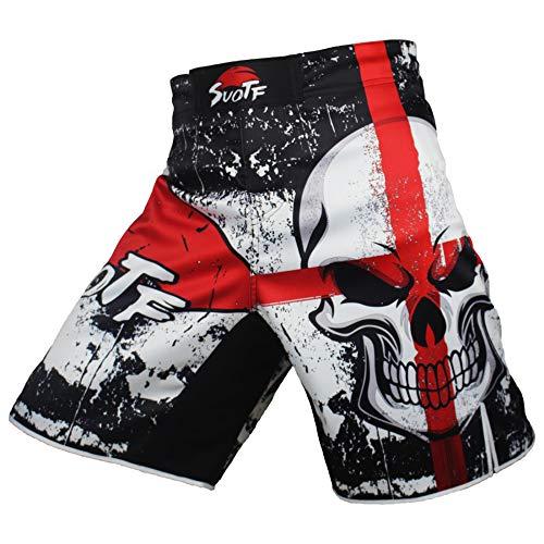 Frikimanes Pantalones Cortos Shorts Modelo Calavera Ideales MMA...