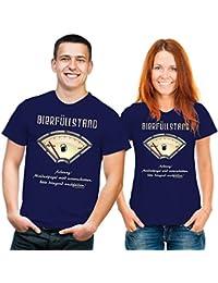Bier T-Shirt: Bierfüllstand