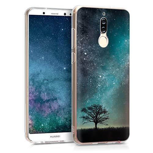 kwmobile Huawei Mate 10 Lite Hülle - Handyhülle für Huawei Mate 10 Lite - Handy Case in Blau Grau Schwarz