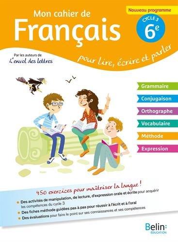 Telecharger Mon Cahier De Francais 6eme Books Epub Pdf