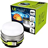 LE LED Camping Laterne USB Wiederaufladbare 280lm
