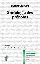SOCIOLOGIE DES PRENOMS