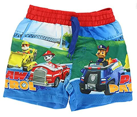 Paw Patrol Boys Swimming Shorts Kids Swimwear Trunks (2-3 Years)