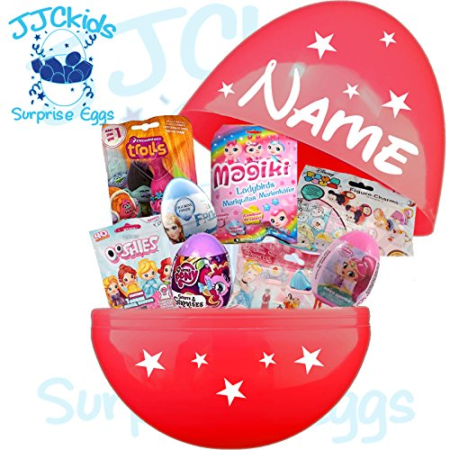 NT Mega Jumbo gefüllt Surprise Egg – Trolle, magiki, Disney Princess Frozen & My Little Pony Toys (My Little Pony-geschenk-tasche)