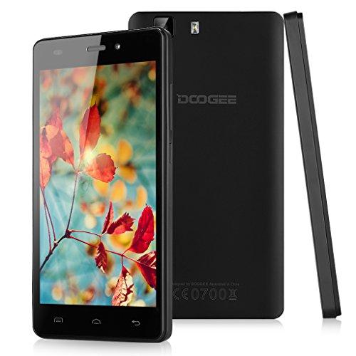 "Doogee X5 Pro - Smartphone móvil libre 4G Lte Android (Pantalla 5.0"", Quad-Core, 64 bit, 16GB ROM, 2GB RAM, 5 Mp, WiFi, Dual SIM), Negro"