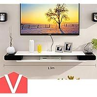 Preisvergleich für Wandregal TV-Schrank-Set - Top-Box Regale Wohnzimmer TV Wand Hintergrund Wand Hängende Schlafzimmer Trennwände Wanddekoration Wandhalterung Ablage ( Farbe : 7* )