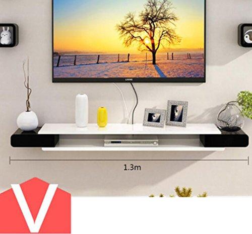 Wandregal TV-Schrank-Set - Top-Box Regale Wohnzimmer TV Wand Hintergrund Wand Hängende Schlafzimmer Trennwände Wanddekoration Wandhalterung Ablage ( Farbe : 7* )